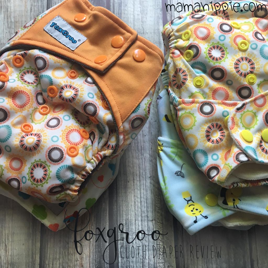 Foxgroo Diaper Review & a Giveaway! (USA; 5/12-5/26/17)