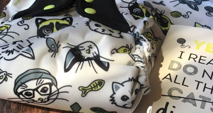 Cotton Babies Cloth Diaper Collector's Club – June 2017, Catitude
