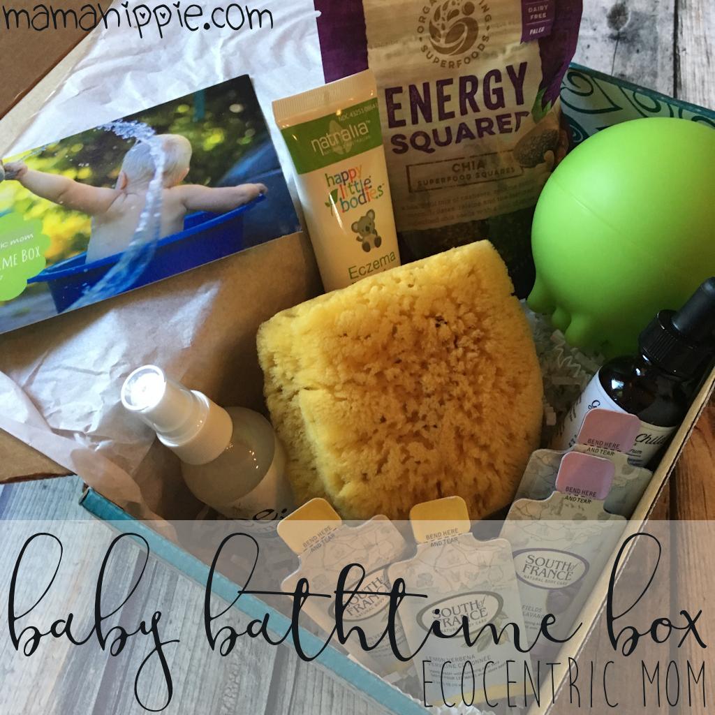Ecocentric Mom Baby Bathtime Box