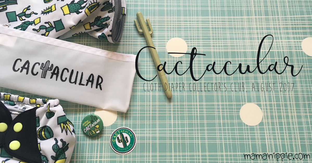 Ever wanted to get limited edition cloth diapers delivered right to your door? Cotton Babies now has a subscription service so you can do just that! This month is Cactacular, a cute little cactus doodle diaper.