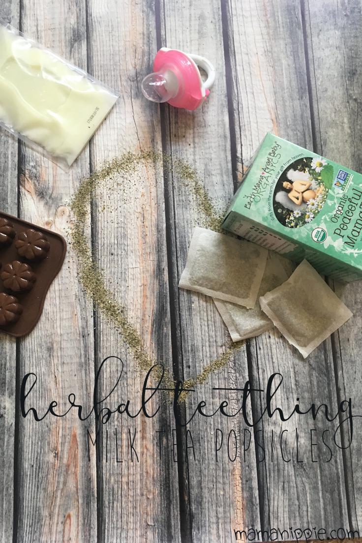 Herbal Teething Milk Tea Popsicles Mama Hippie