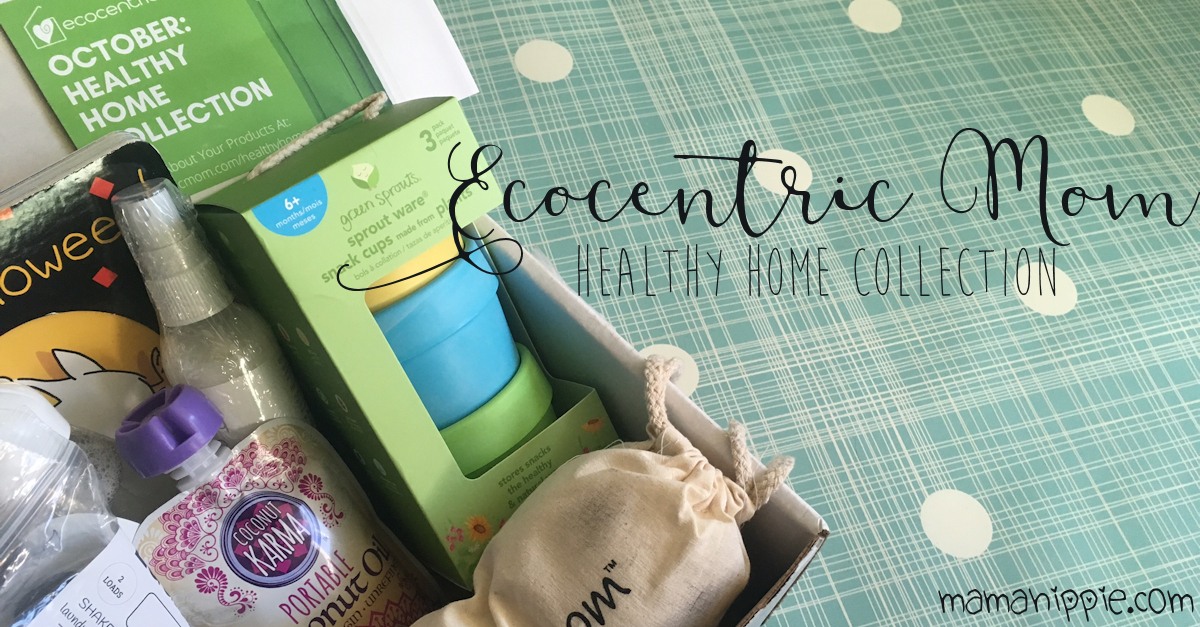 This month's Ecocentric Mom boxed is filled with goodies for a healthier, greener home. Want #natural products delivered straight to your door? Visit Ecocentric Mom and sign up for your next box.