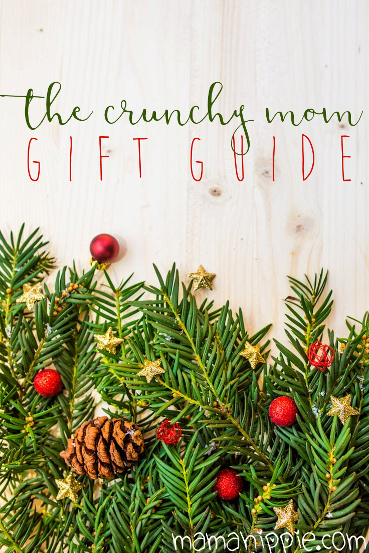 Natural minded mamas (and papas!) can be some of the hardest people to shop for. They don't use this, and they avoid that so what can you get them? Here are 8 Christmas gift guide for moms (from a crunchy mama herself!). #naturalmama #christmas #giftguide