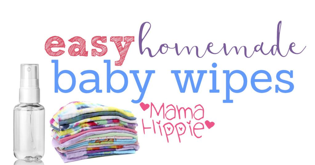 Easy Homemade Baby Wipes Recipe