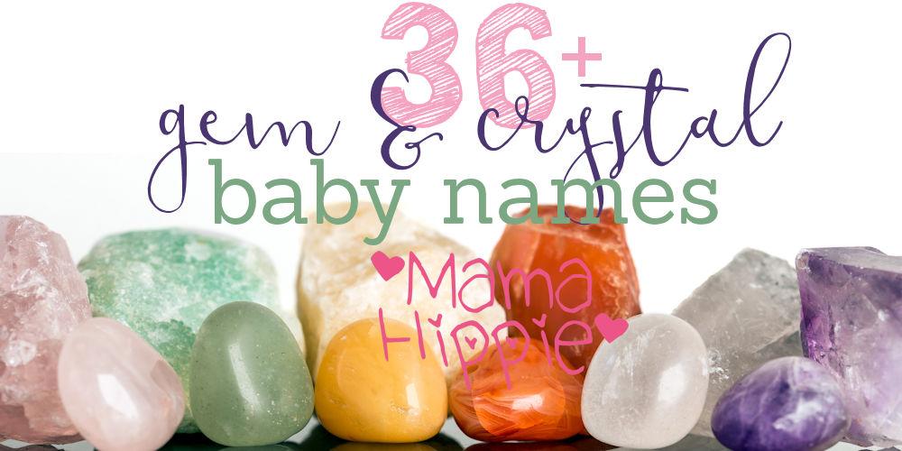 36+ Gem & Crystal Baby Names