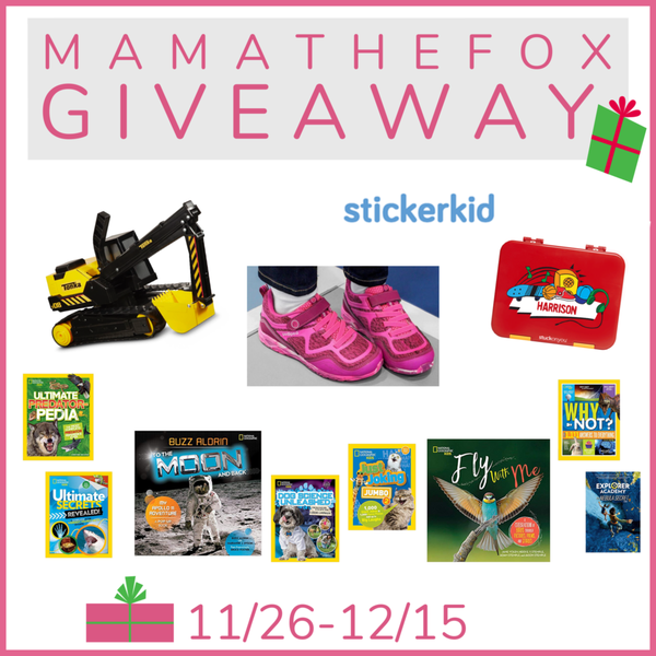 2018 Kids Gift Giveaway (US Only; 11/26-12/15)