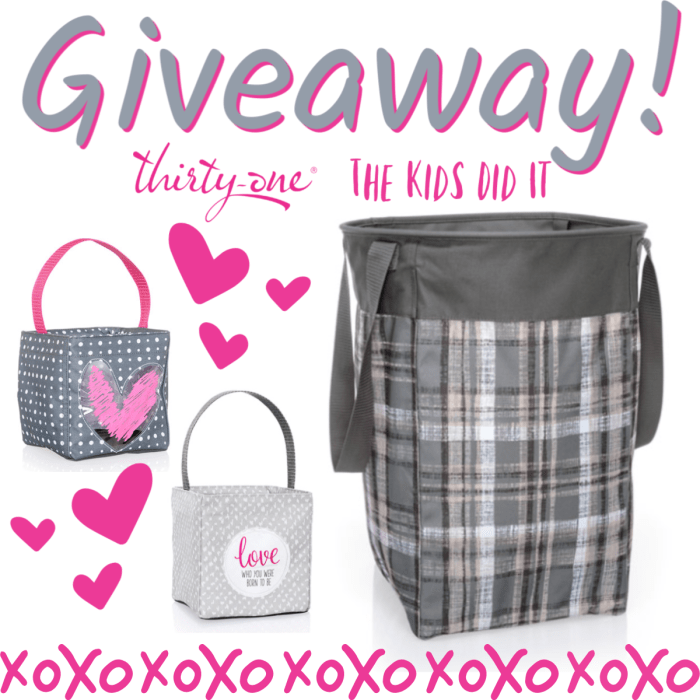 ThirtyOne Gifts Storage Solutions Giveaway (Ends 2/25)