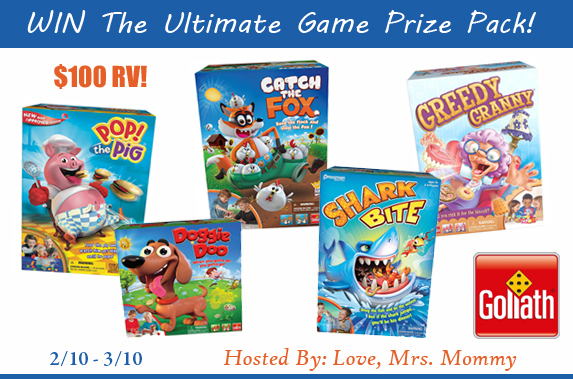 Goliath Games Ultimate Prize Pack Giveaway – USA/CA Ends