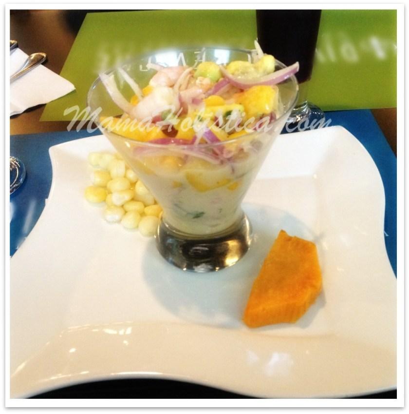 Recetas Holísticas: Ceviche de Pescado con Mango.