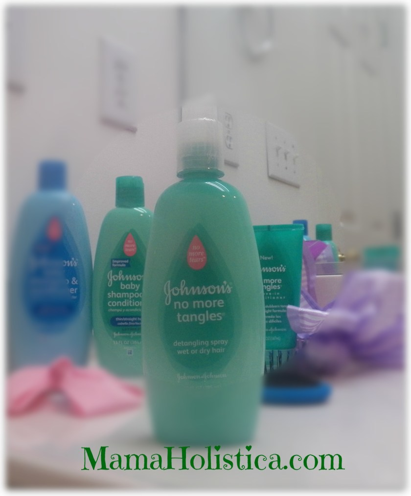 JOHNSON'S® NO MORE TANGLES® Detangling spray