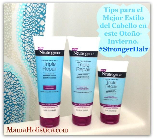 Tips para el Mejor Estilo del Cabello en este Otoño-Invierno #StrongerHair