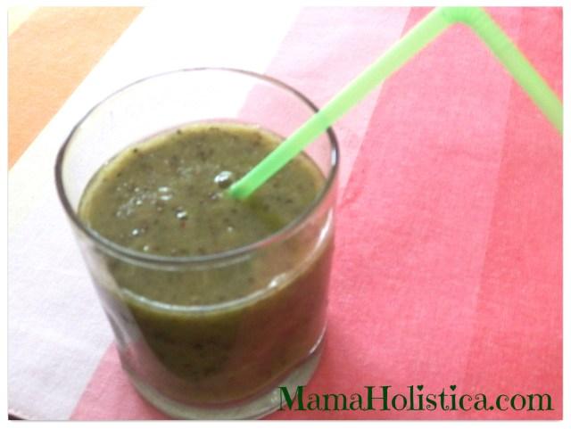 Mis Jugos Verdes Favoritos: Chia Seeds, Maca, fresas, kiwi y más #GreenGirlsBloggers