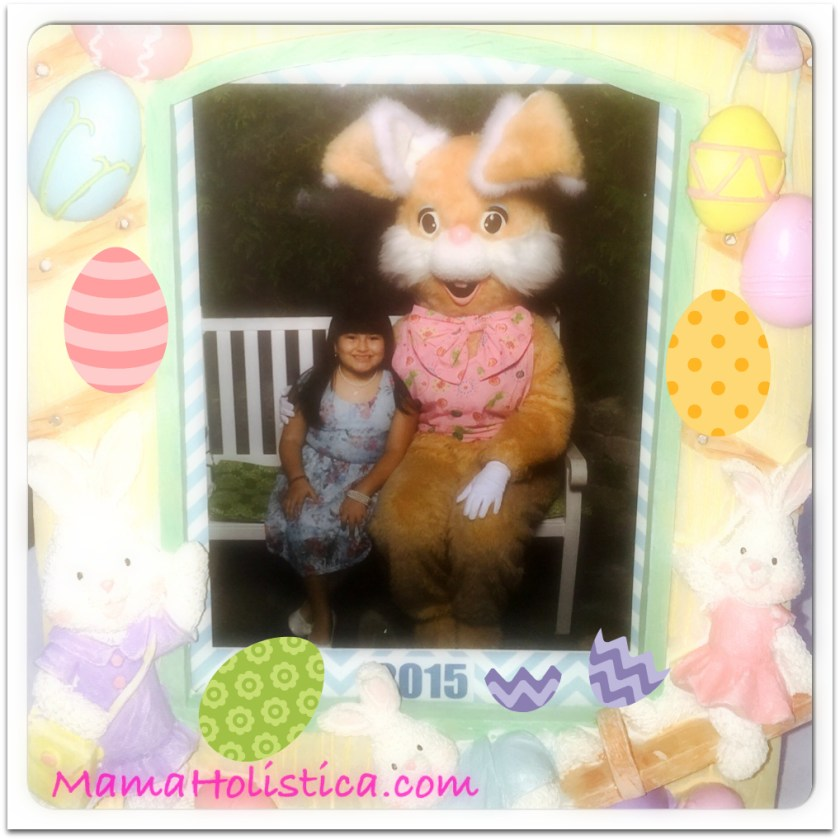 Miércoles Mudo/Wordless Wednesday: Visitando a Easter Bunny #MM
