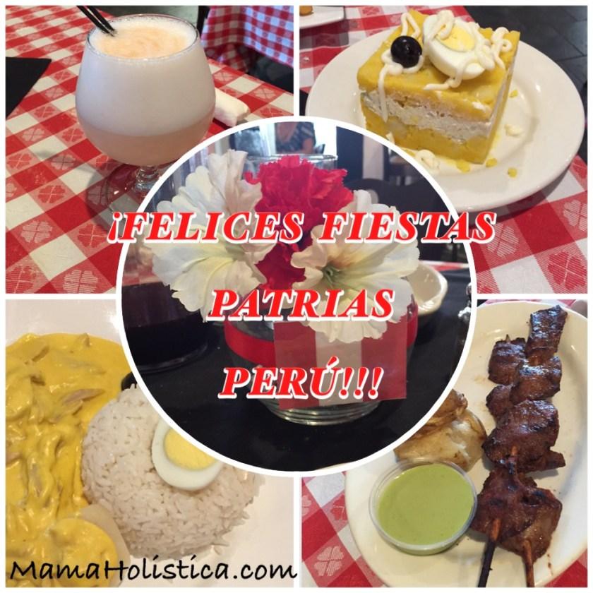 Miércoles Mudo / Wordless Wednesday: Festejando las Fiestas Patrias de Nuestro Querido Perú con la Rica Gastronomía Peruana #MM