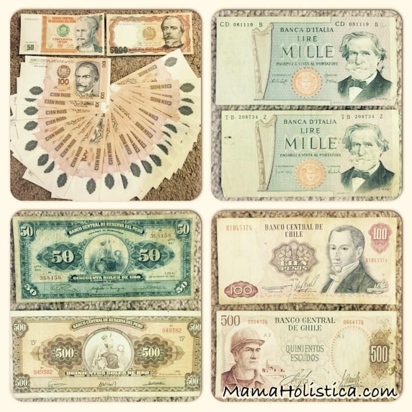 Miércoles Mudo / Wordless Wednesday: Nuestros Billetes Antiguos #MM