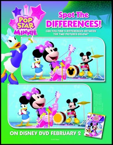 Pronto en DVD Mickey Mouse Clubhouse: Pop Star Minnie. Sorteo.