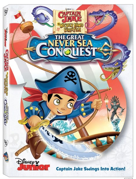 Llego el DVD Captain Jake y Los Never Land Pirates: The Great Never Sea Conquest.