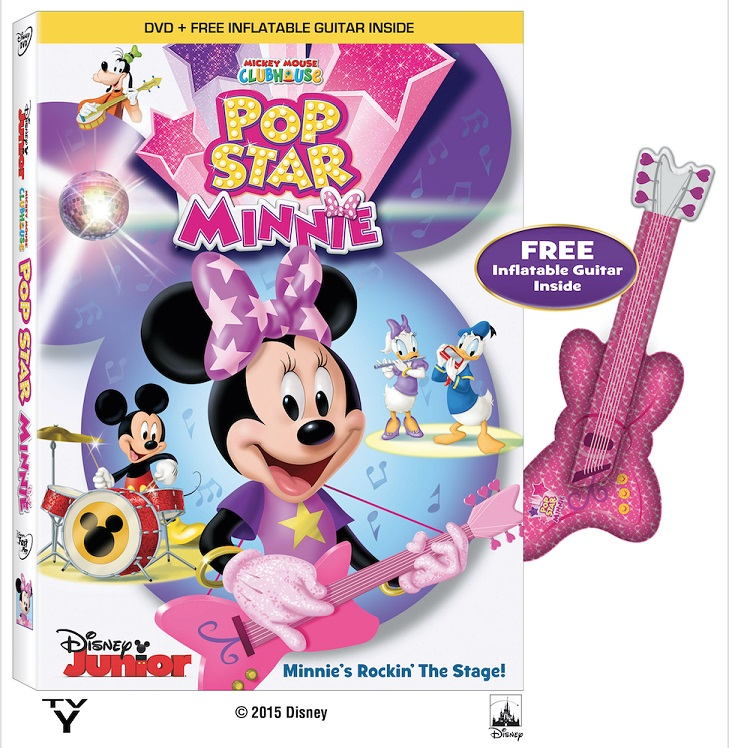 Pronto en DVD Mickey Mouse Clubhouse: Pop Star Minnie.