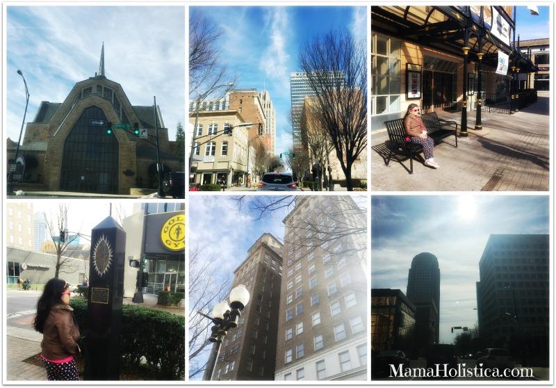 Miércoles Mudo/Wednesday Wordless: Caminando por el Downtown de Winston-Salem NC. #DTWS #MM