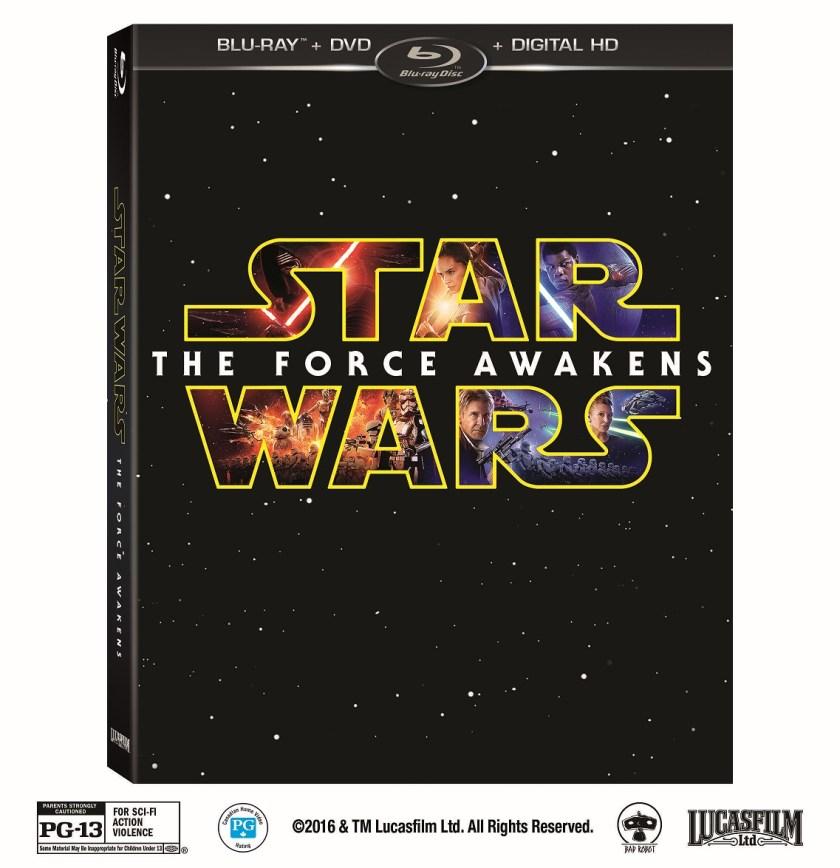 STAR WARS: THE FORCE AWAKENS desde este 1 de Abril en Digital HD.