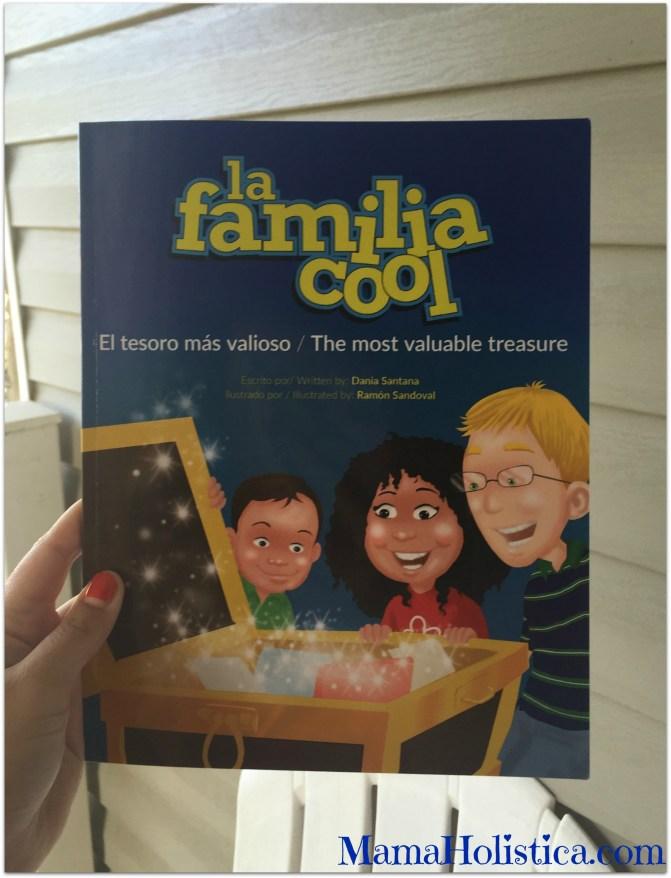 """Libro Bilingüe para Niños """"La Familia Cool. El Tesoro más Valioso"""" Sorteo."""
