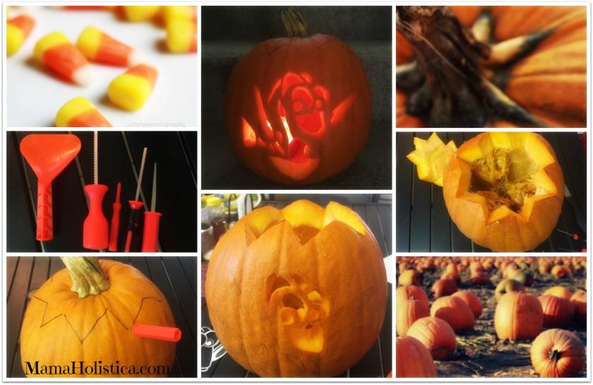 DIY de la Calabaza Linterna Tallada o Pumpkin Jack-o'-Lantern de la Película #FindingDory