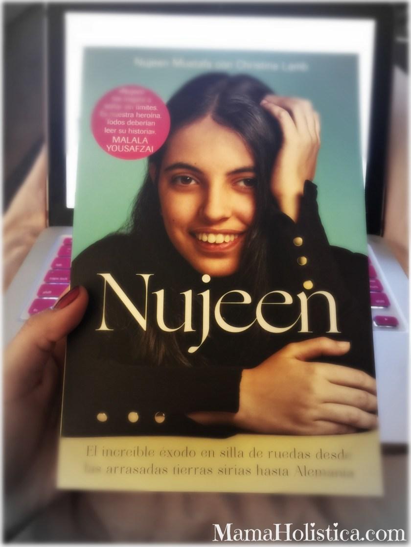 """La Historia Real """"Nujeen"""" El Increíble éxodo en silla de ruedas desde las arrasadas... Sorteo #Libro"""