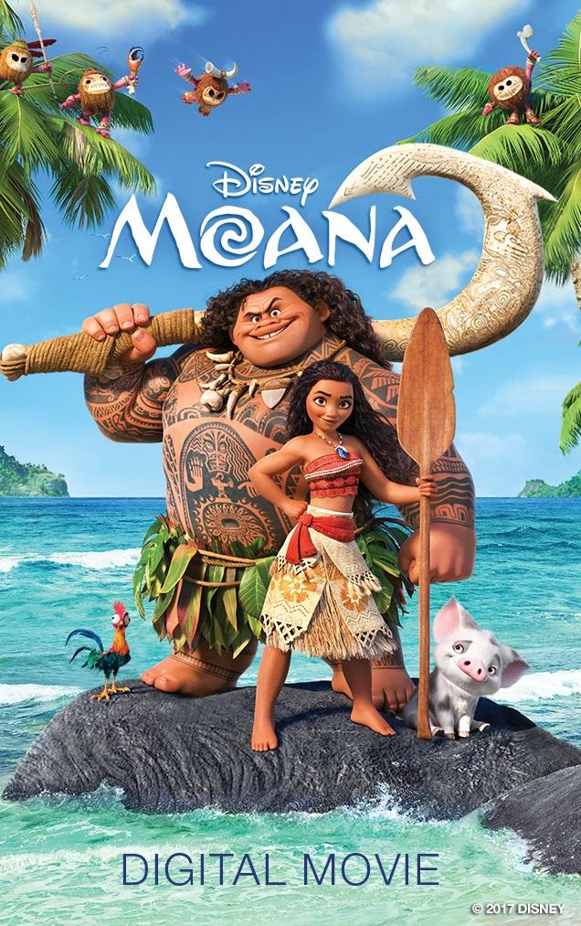 Excelentes Mensajes de la Película Animada Moana para toda la Familia. Sorteo #MOANA