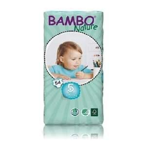 Sauskelnės Bambo Nature Duo Junior 5, 12-22kg, 54vnt.