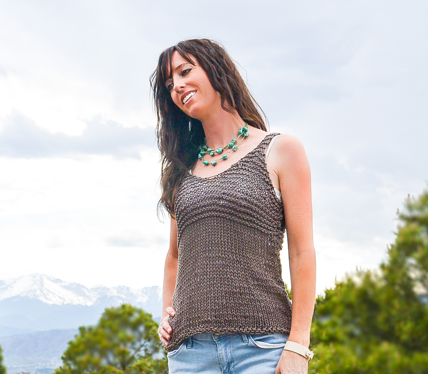 Tank Top Knitting Patterns : Free Knitting Patterns