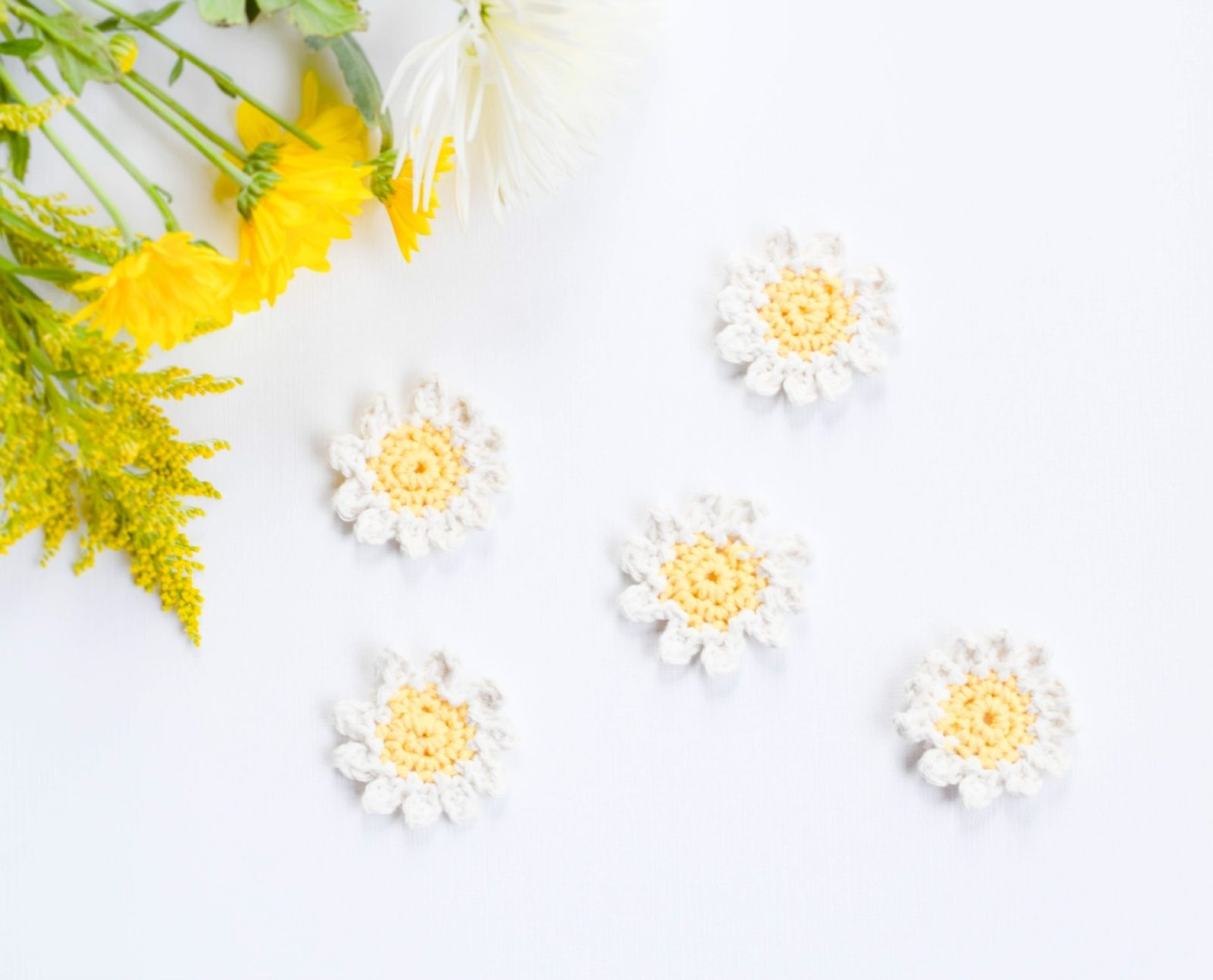Daisies Free Crochet Pattern Pic