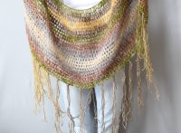 "One Skein Crochet ""Boho Shawl"" Pattern  Mama In A Stitch"
