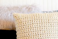 Super Chunky Crochet Pillow Project  Mama In A Stitch