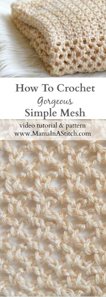 how-to-crochet-mesh-stitch-beginner-pattern-tutorial