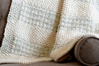 Easy Heirloom Knit Blanket Pattern  Mama In A Stitch