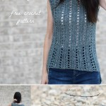 Vintage Easy Crochet Sleeveless Top Pattern Mama In A Stitch
