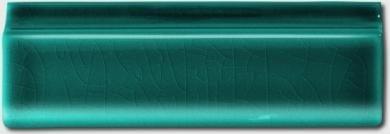 Angle encadrement cimaise droite - Carrelage Metro couleur - Vert turquoise - Diffusion Céramique