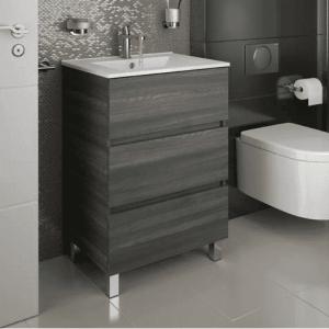 Salgar FUSSION LINE - Meuble salle de bain 60cm 3 tiroirs - ALSACE