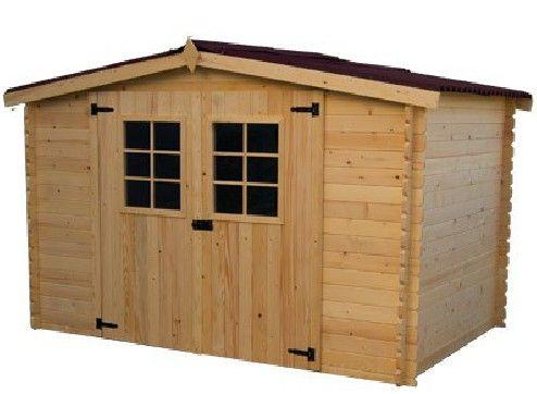 abri de jardin en bois le kit de
