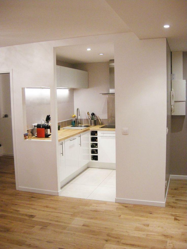 meuble cuisine sans porte