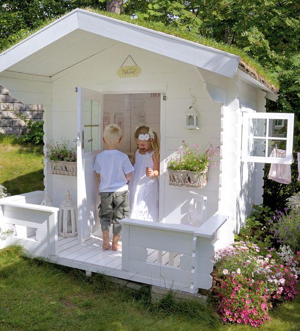 les cabanes pour enfants font leur show