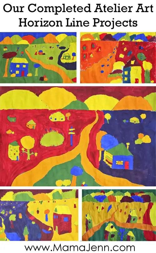 Atelier Online Homeschool Art Curriculum