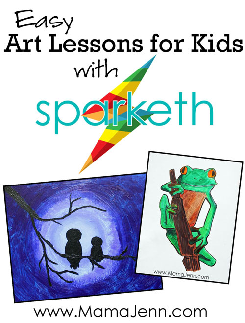 Easy Online Art Lessons for Kids