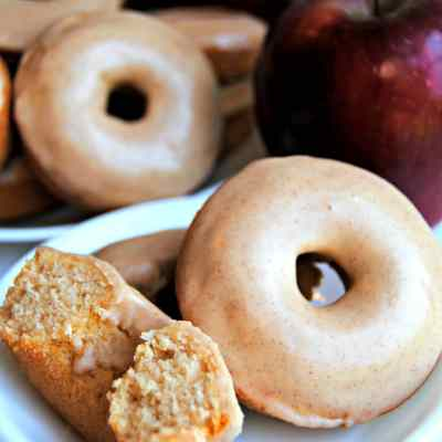 Baked Apple Cinnamon Donuts {Gluten-Free, Dairy-Free}