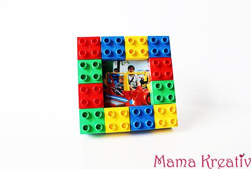 Bilderrahmen aus Lego