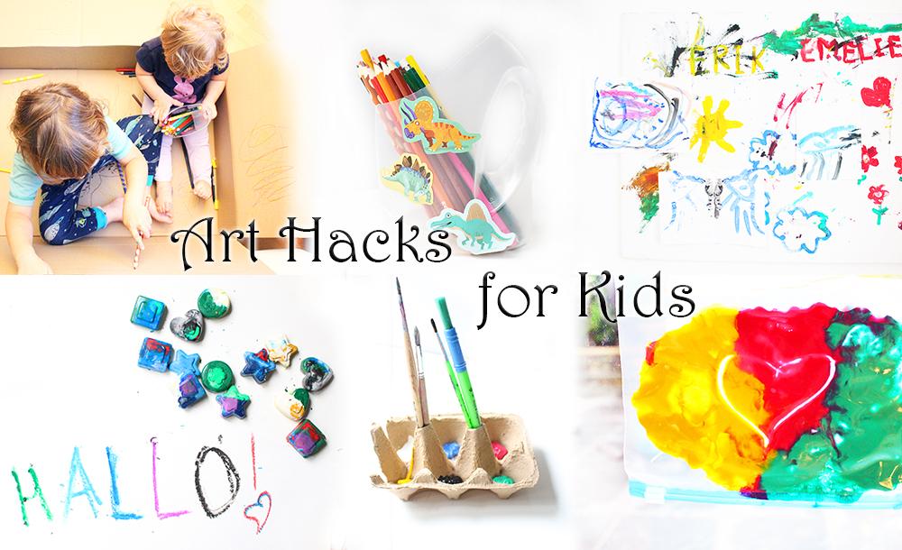 Mama Eltern Lifehacks Tipps und Tricks rund ums Malen mit Kindern