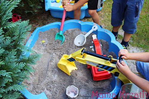 Dino-Ausgrabung