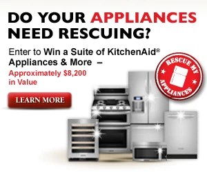KitchenAid Rescue My Appliances Sweepstakes