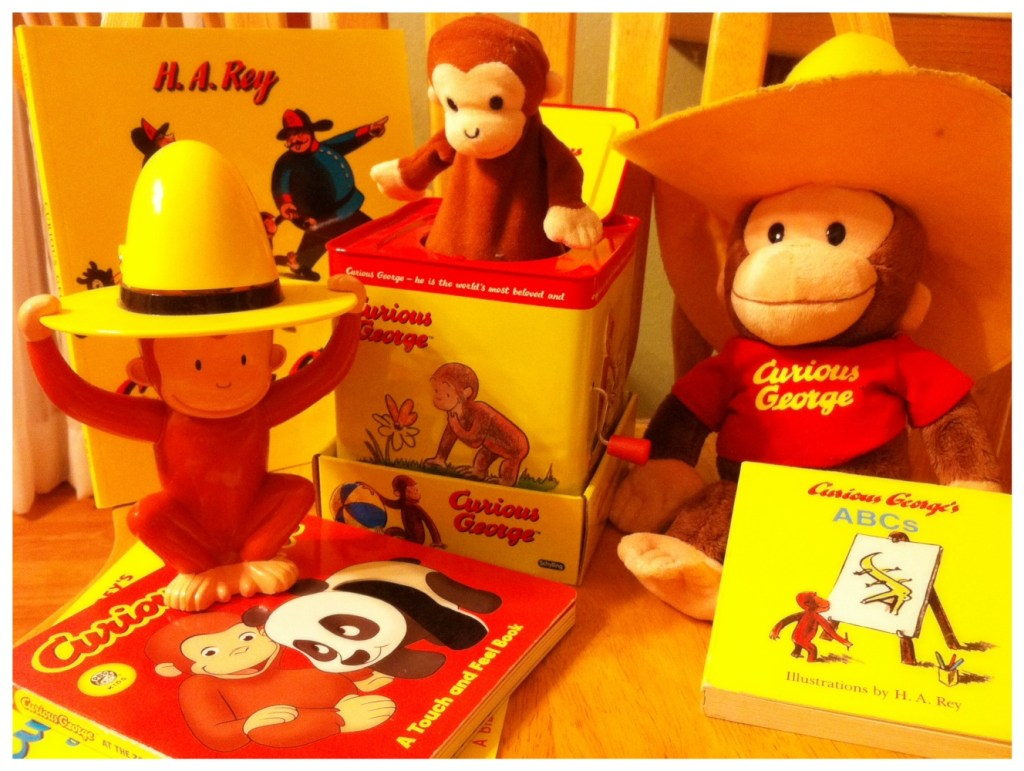 Curious George Celebrating Moms