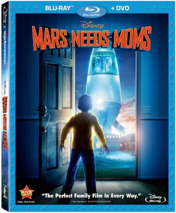Mars Needs Moms DVD/Blu-ray Giveaway